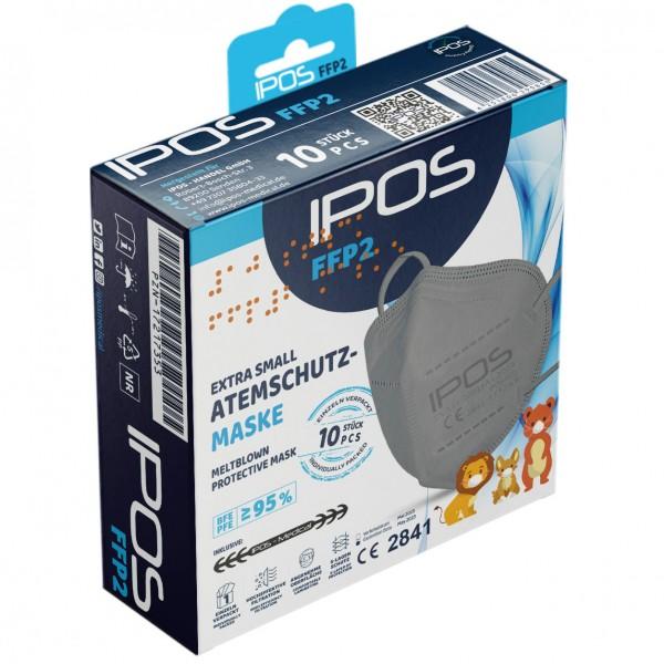 IPOS FFP2 SMALL GRAU
