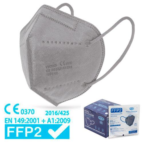FFP2-Maske grau